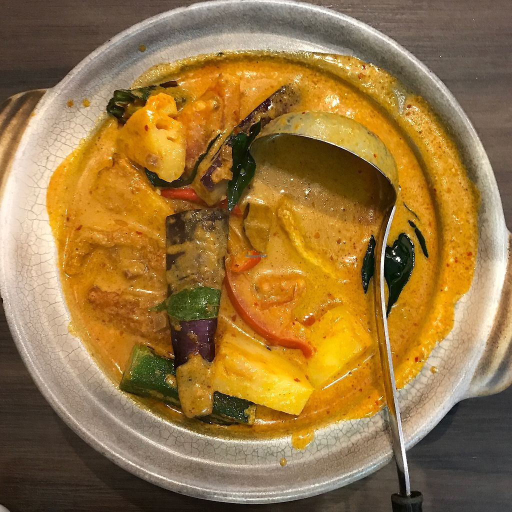 "Photo of New Fut Kai Vegetarian Restaurant  by <a href=""/members/profile/earthville"">earthville</a> <br/>nonya ""fish"" curry <br/> June 16, 2017  - <a href='/contact/abuse/image/12040/269722'>Report</a>"