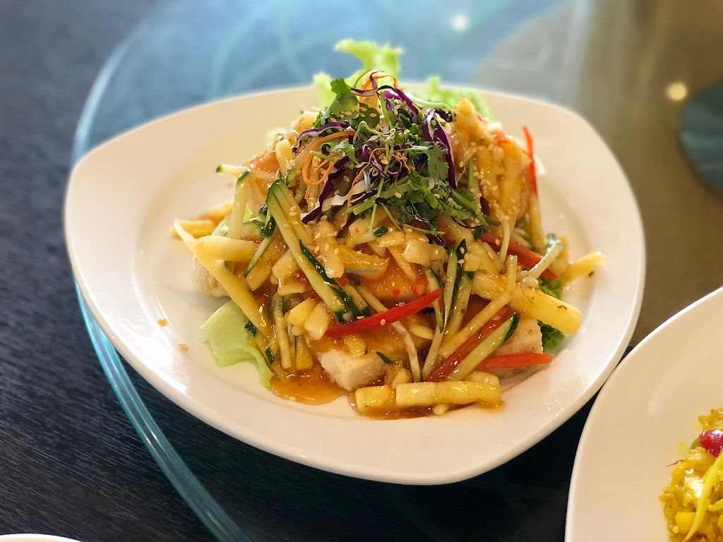 "Photo of New Fut Kai Vegetarian Restaurant  by <a href=""/members/profile/CherylQuincy"">CherylQuincy</a> <br/>Thai Style Tofu <br/> February 19, 2018  - <a href='/contact/abuse/image/12040/361200'>Report</a>"