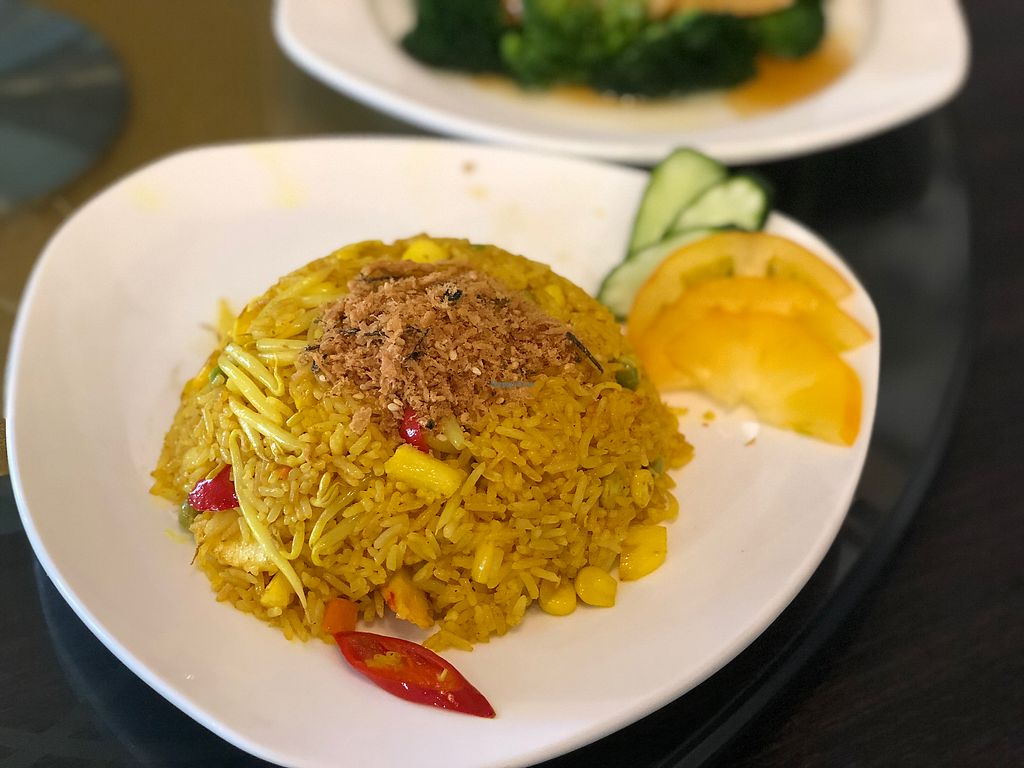 "Photo of New Fut Kai Vegetarian Restaurant  by <a href=""/members/profile/CherylQuincy"">CherylQuincy</a> <br/>Pineapple Fried Rice <br/> February 19, 2018  - <a href='/contact/abuse/image/12040/361201'>Report</a>"