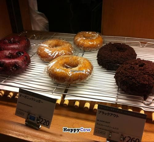"""Photo of Eat More Greens  by <a href=""""/members/profile/Meowmeow"""">Meowmeow</a> <br/>Vegan donuts <br/> August 31, 2013  - <a href='/contact/abuse/image/12049/54121'>Report</a>"""