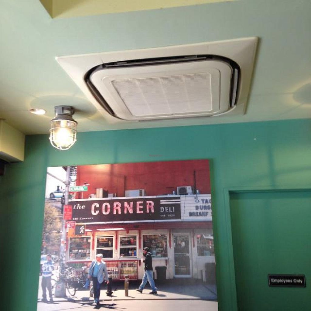 """Photo of Eat More Greens  by <a href=""""/members/profile/Cleverjenny"""">Cleverjenny</a> <br/>Photography of Downtown NYC on the Walls (this is La Esquina on Kenmare & Lafayette) <br/> May 23, 2014  - <a href='/contact/abuse/image/12049/70618'>Report</a>"""