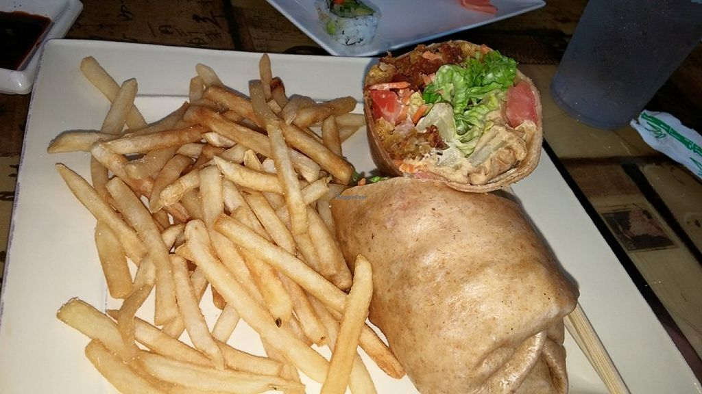 "Photo of Nikki's Fresh Gourmet  by <a href=""/members/profile/PixieMel"">PixieMel</a> <br/>Falafel wrap and fries <br/> November 28, 2015  - <a href='/contact/abuse/image/12050/126451'>Report</a>"
