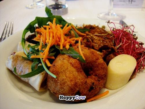 """Photo of Restaurant Bona Dea  by <a href=""""/members/profile/SueClesh"""">SueClesh</a> <br/>small plate with assorted starters <br/> August 14, 2013  - <a href='/contact/abuse/image/1210/53247'>Report</a>"""