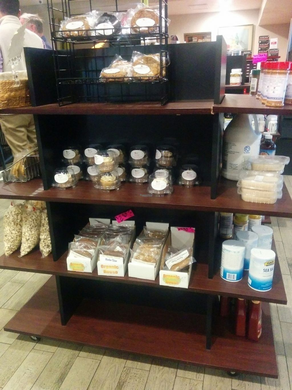 """Photo of Sunshine's Health Food Store and Vegetarian Deli  by <a href=""""/members/profile/MizzB"""">MizzB</a> <br/>Packaged goods, all vegan <br/> January 28, 2017  - <a href='/contact/abuse/image/12137/218476'>Report</a>"""