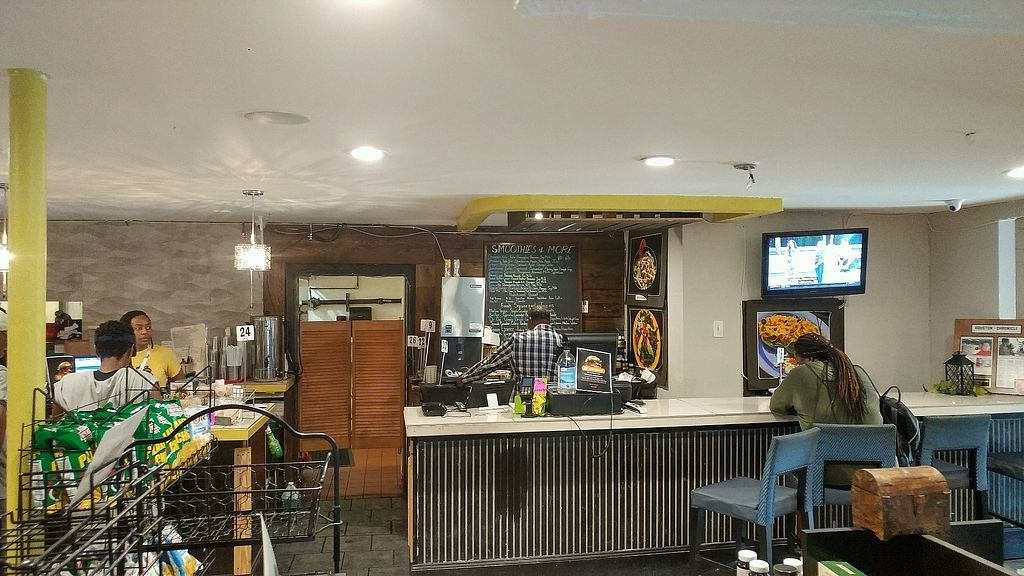 """Photo of Sunshine's Health Food Store and Vegetarian Deli  by <a href=""""/members/profile/TreyLegall"""">TreyLegall</a> <br/>Register/Juice Bar <br/> October 8, 2017  - <a href='/contact/abuse/image/12137/312978'>Report</a>"""
