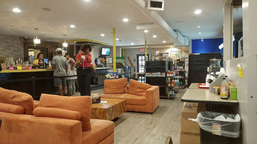 """Photo of Sunshine's Health Food Store and Vegetarian Deli  by <a href=""""/members/profile/TreyLegall"""">TreyLegall</a> <br/>Sitting Area <br/> October 8, 2017  - <a href='/contact/abuse/image/12137/312980'>Report</a>"""