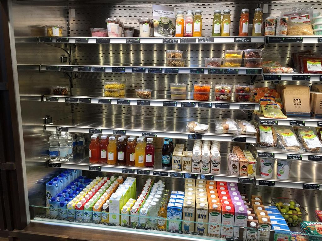 """Photo of Hiltl - Sihlstrasse  by <a href=""""/members/profile/Paolla"""">Paolla</a> <br/>Some options from the fridge <br/> July 3, 2015  - <a href='/contact/abuse/image/1213/108007'>Report</a>"""