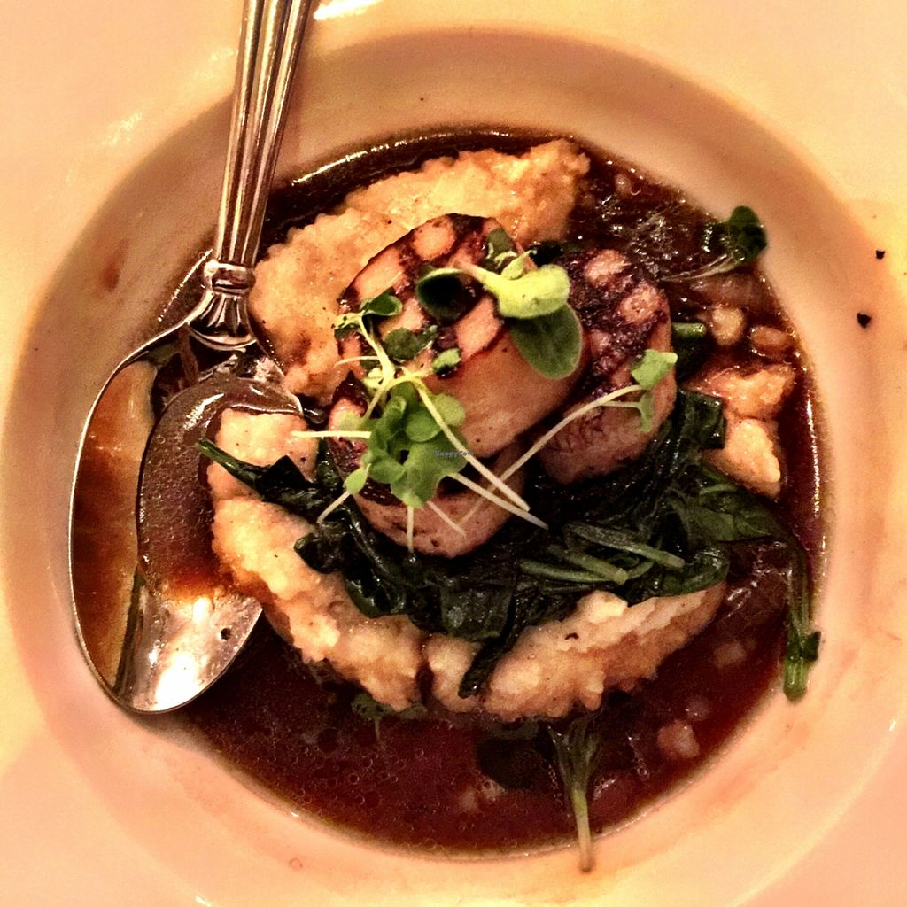 "Photo of Cafe Blossom - Upper West Side  by <a href=""/members/profile/TheVeganSix"">TheVeganSix</a> <br/>Trumpet Mushroom Scallop Appetizer <br/> March 26, 2016  - <a href='/contact/abuse/image/12172/141427'>Report</a>"