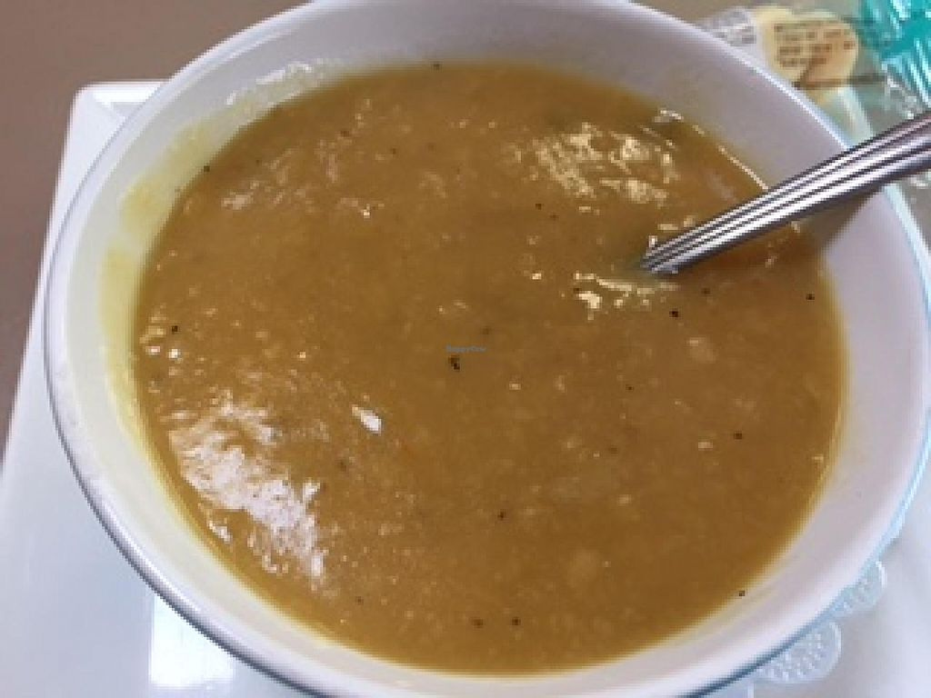 """Photo of Sweet Basil's Cafe  by <a href=""""/members/profile/AMac"""">AMac</a> <br/>Split pea soup  <br/> April 11, 2015  - <a href='/contact/abuse/image/12179/98677'>Report</a>"""