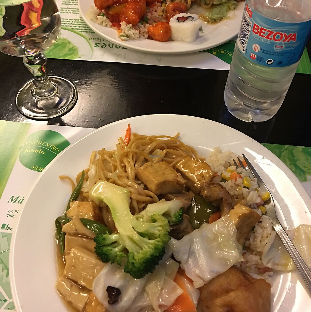"""Photo of Shi-Shang  by <a href=""""/members/profile/FranceskaLynne"""">FranceskaLynne</a> <br/>Yummy vegan Chinese - all you can eat! <br/> June 13, 2017  - <a href='/contact/abuse/image/12240/268706'>Report</a>"""