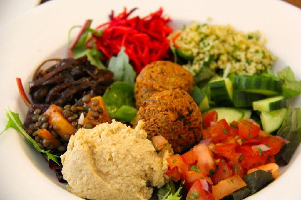 """Photo of Robertson's Organic Cafe  by <a href=""""/members/profile/trinitybourne"""">trinitybourne</a> <br/>A good vegan mezze option from Robertson's Organic Cafe <br/> July 4, 2014  - <a href='/contact/abuse/image/12286/73160'>Report</a>"""