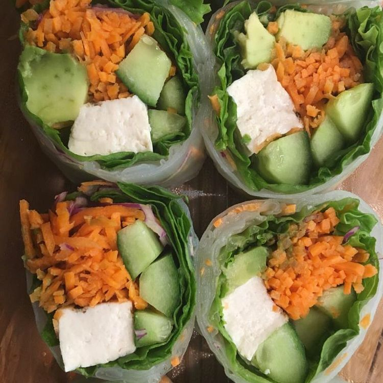 """Photo of Whole Foods Market - Arroyo  by <a href=""""/members/profile/VeganCookieLover"""">VeganCookieLover</a> <br/>vegetable roll  <br/> September 25, 2016  - <a href='/contact/abuse/image/12308/177975'>Report</a>"""