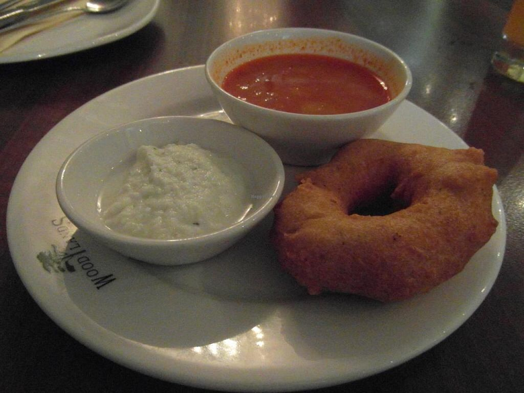 """Photo of Woodlands - Leicester Square  by <a href=""""/members/profile/Pamina"""">Pamina</a> <br/>Woodlands - Leicester Square, London: Starters <br/> August 21, 2014  - <a href='/contact/abuse/image/12375/77827'>Report</a>"""