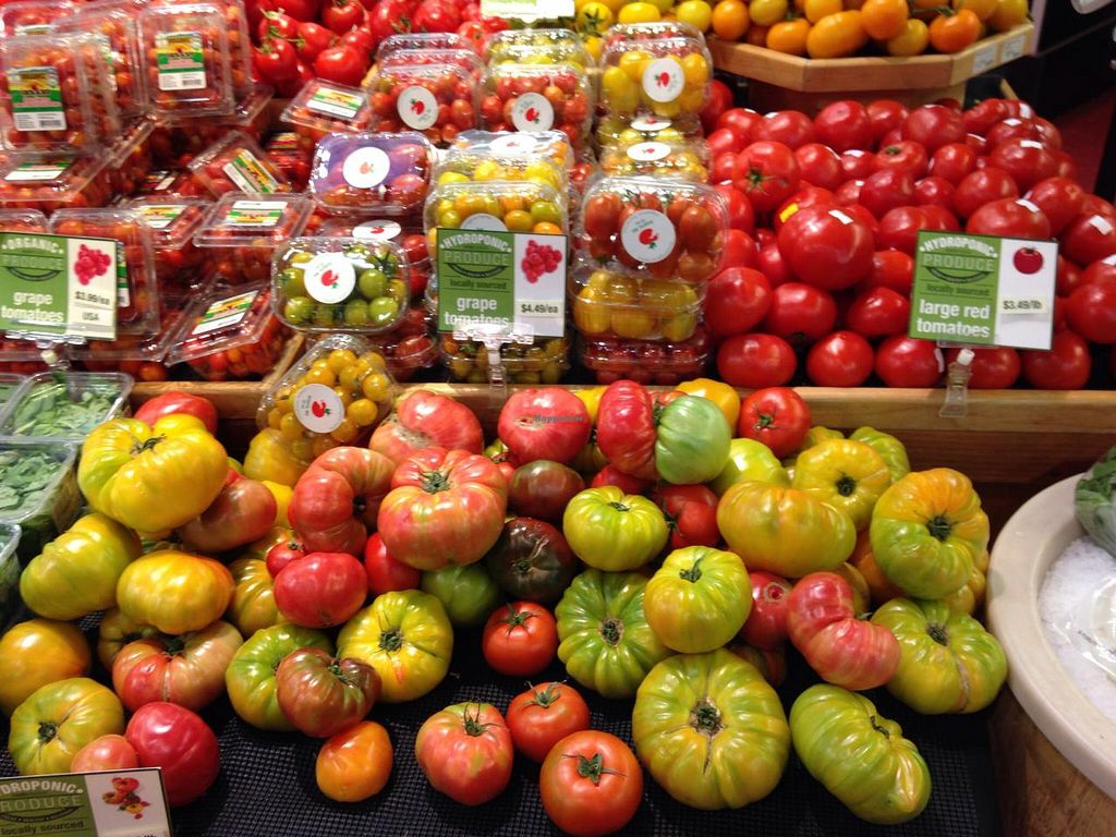 "Photo of Roots Market  by <a href=""/members/profile/cookiem"">cookiem</a> <br/>Tomatoes <br/> May 30, 2015  - <a href='/contact/abuse/image/12406/104174'>Report</a>"