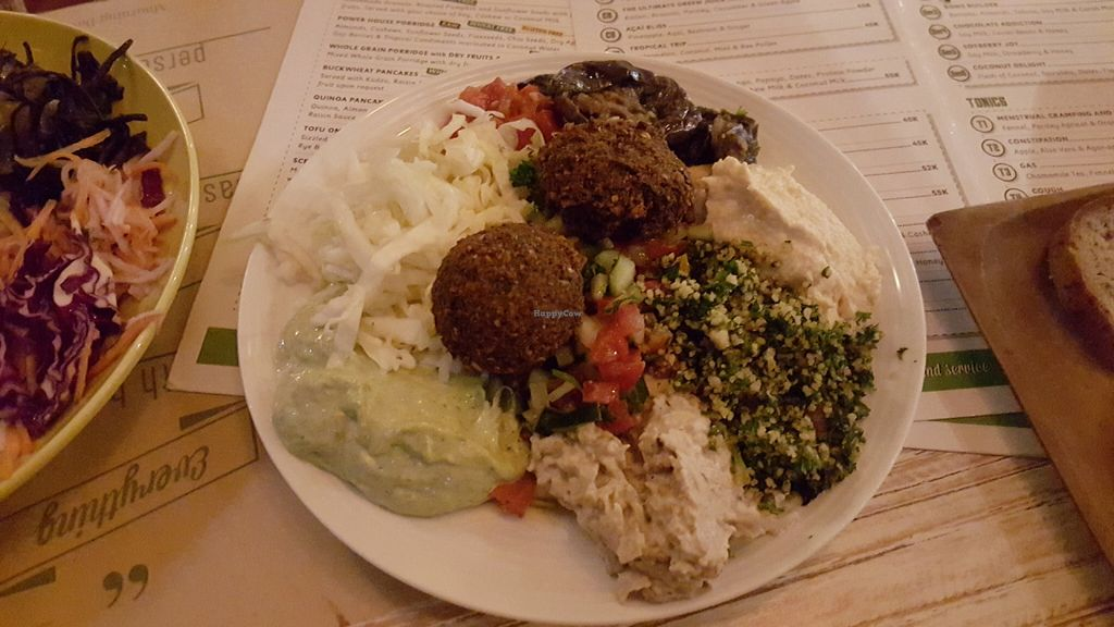 "Photo of Earth Cafe and Market - Seminyak  by <a href=""/members/profile/KarimKanfoudi"">KarimKanfoudi</a> <br/>Mixed Mezze <br/> June 15, 2016  - <a href='/contact/abuse/image/12414/154022'>Report</a>"