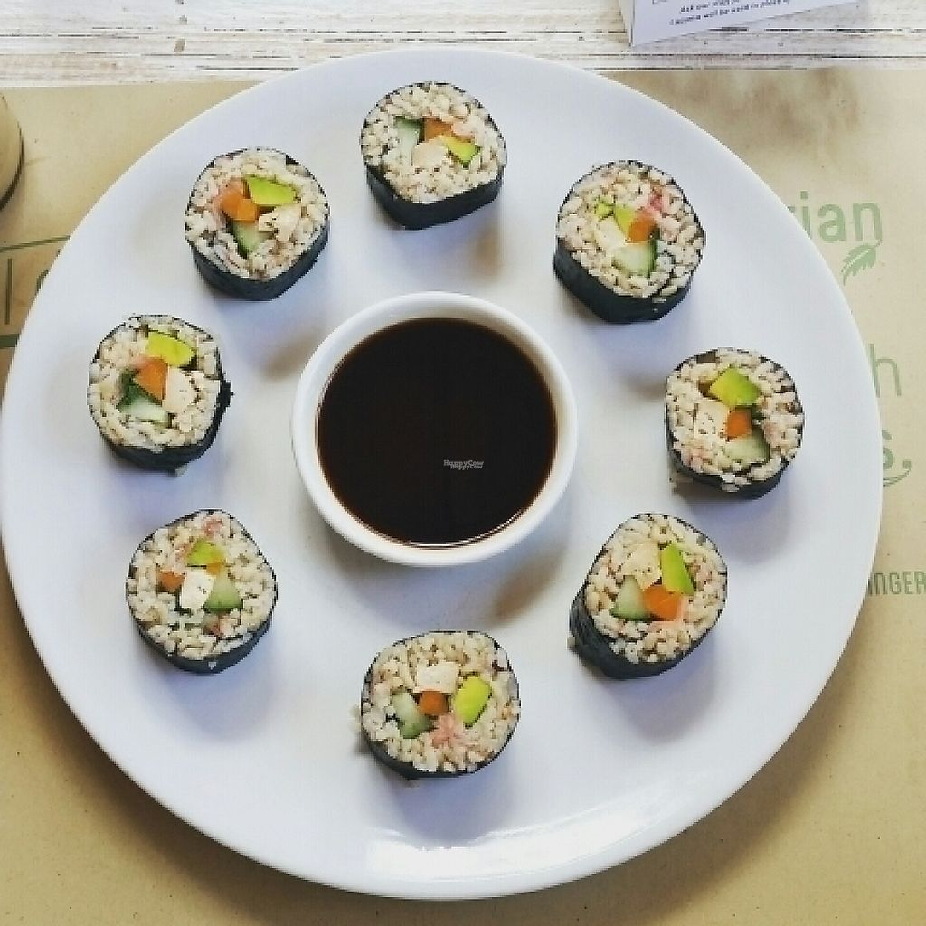 """Photo of Earth Cafe and Market - Seminyak  by <a href=""""/members/profile/AlfalfaKitty"""">AlfalfaKitty</a> <br/>vegan nori <br/> November 11, 2016  - <a href='/contact/abuse/image/12414/188669'>Report</a>"""