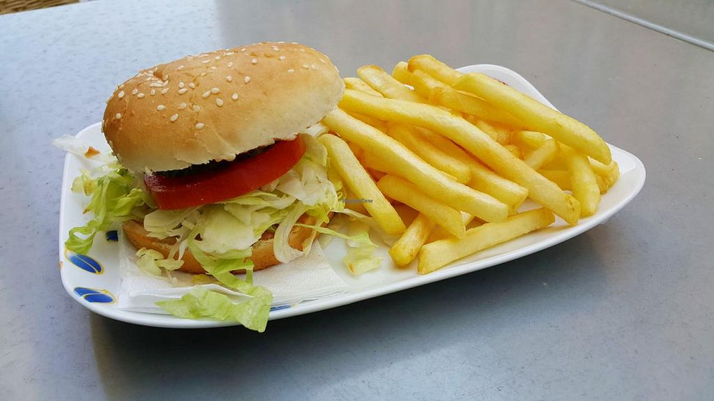 """Photo of Formosa Food  by <a href=""""/members/profile/Bluemilk"""">Bluemilk</a> <br/>Veggie Chicken burger and fries <br/> May 7, 2015  - <a href='/contact/abuse/image/12459/101482'>Report</a>"""