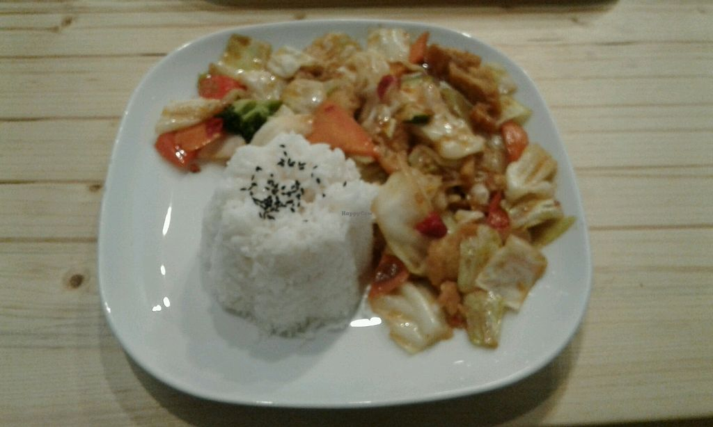 """Photo of Formosa Food  by <a href=""""/members/profile/sagar"""">sagar</a> <br/>Rice with tofu and veggies <br/> November 8, 2017  - <a href='/contact/abuse/image/12459/323369'>Report</a>"""