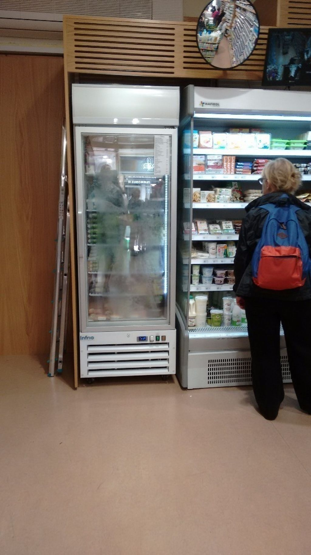 """Photo of Nourish - Wicklow Street  by <a href=""""/members/profile/craigmc"""">craigmc</a> <br/>Fridge and small frozen section <br/> August 19, 2016  - <a href='/contact/abuse/image/12471/170033'>Report</a>"""