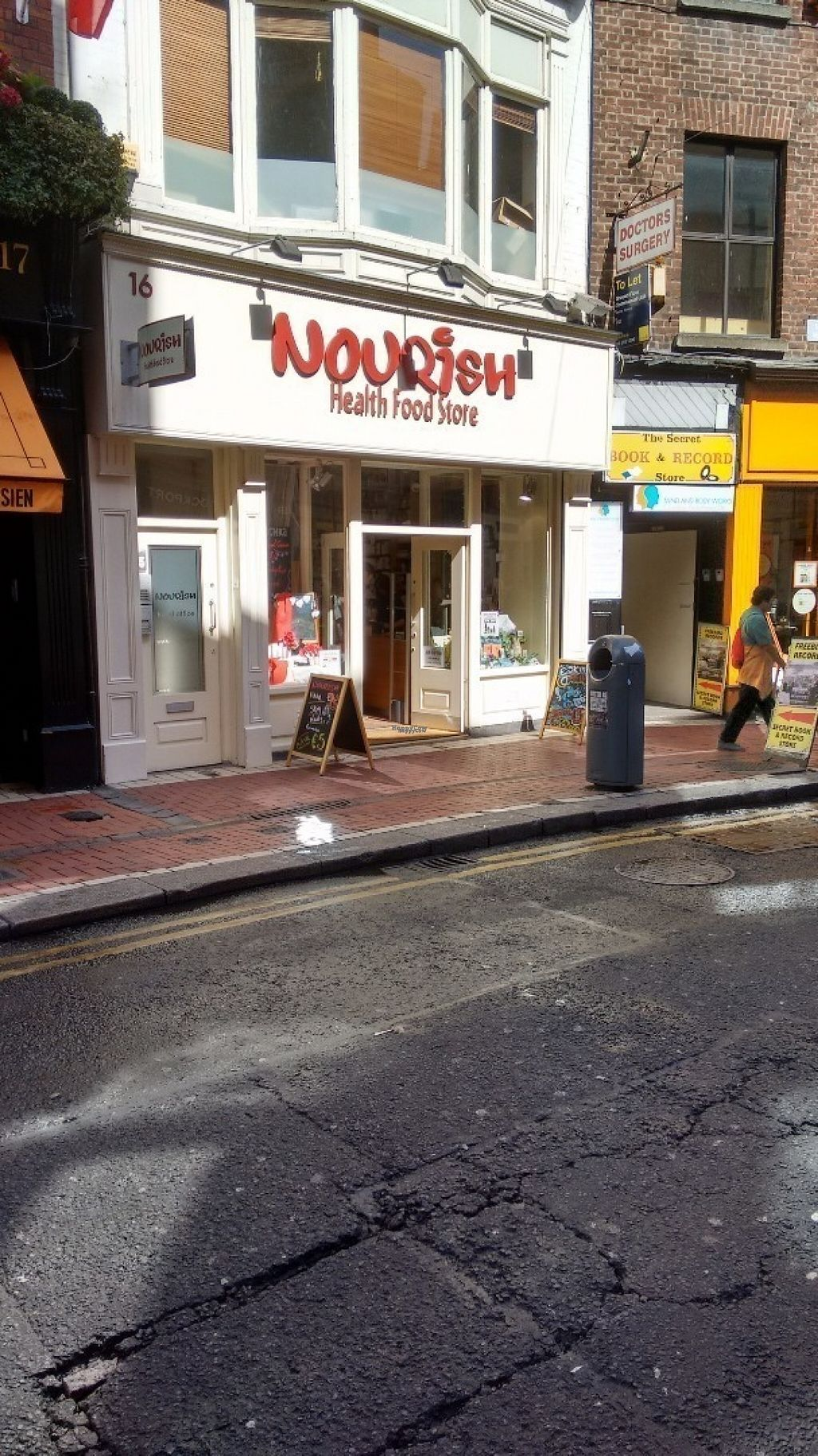 """Photo of Nourish - Wicklow Street  by <a href=""""/members/profile/craigmc"""">craigmc</a> <br/>Exterior <br/> August 19, 2016  - <a href='/contact/abuse/image/12471/170035'>Report</a>"""