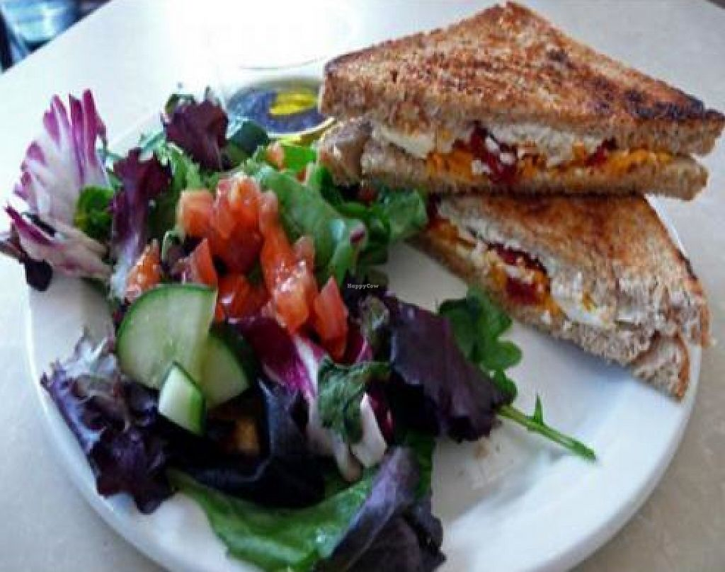 """Photo of CLOSED: MUSE on 8th  by <a href=""""/members/profile/quarrygirl"""">quarrygirl</a> <br/>vegan reuben with greens on pumpernickel <br/> December 15, 2011  - <a href='/contact/abuse/image/12483/189972'>Report</a>"""