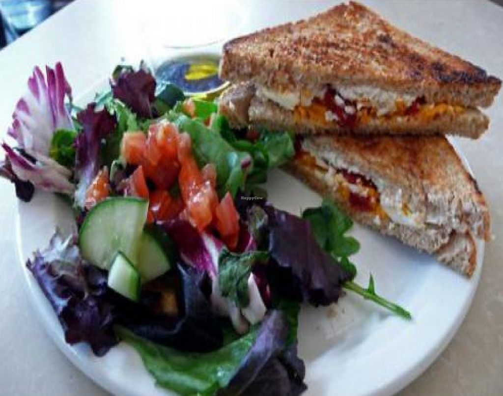 """Photo of CLOSED: MUSE on 8th  by <a href=""""/members/profile/quarrygirl"""">quarrygirl</a> <br/>not your mama's grilled cheese (vegan-style) <br/> December 15, 2011  - <a href='/contact/abuse/image/12483/189973'>Report</a>"""