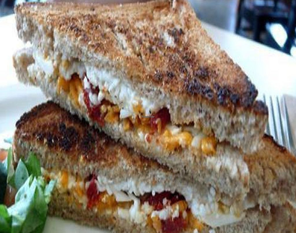 """Photo of CLOSED: MUSE on 8th  by <a href=""""/members/profile/quarrygirl"""">quarrygirl</a> <br/>vegan grilled cheese sandwich <br/> June 13, 2009  - <a href='/contact/abuse/image/12483/190230'>Report</a>"""