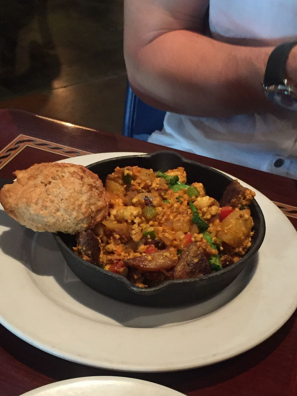 """Photo of Ethos Vegan Kitchen  by <a href=""""/members/profile/KaitlynnGill"""">KaitlynnGill</a> <br/>Skillet scramble  <br/> November 5, 2017  - <a href='/contact/abuse/image/12683/322183'>Report</a>"""