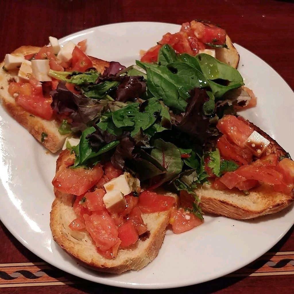 """Photo of Ethos Vegan Kitchen  by <a href=""""/members/profile/MeLLo_MaN"""">MeLLo_MaN</a> <br/>Bruschetta <br/> November 15, 2017  - <a href='/contact/abuse/image/12683/325830'>Report</a>"""