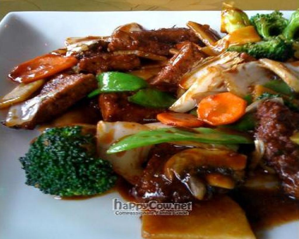 """Photo of Hunan Village  by <a href=""""/members/profile/windysgarden"""">windysgarden</a> <br/>Vegetarian Beef with Broccoli <br/> December 27, 2010  - <a href='/contact/abuse/image/12685/228367'>Report</a>"""