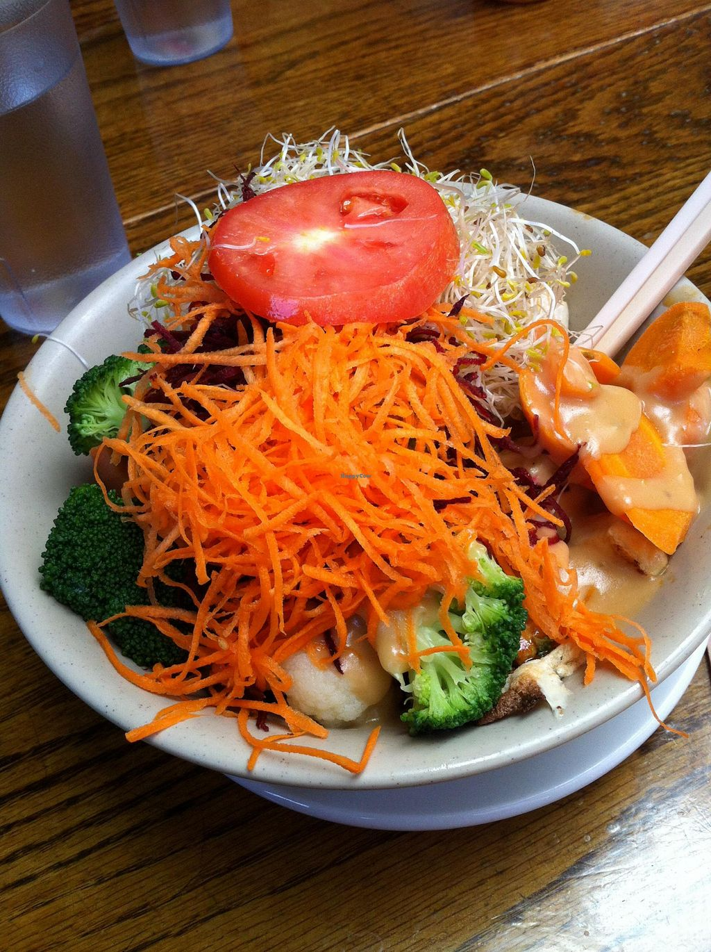 "Photo of The Naam  by <a href=""/members/profile/vegan%20frog"">vegan frog</a> <br/>Vegan dragon bowl <br/> July 30, 2015  - <a href='/contact/abuse/image/1269/111618'>Report</a>"