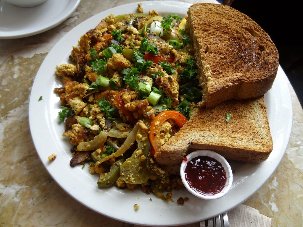 "Photo of The Naam  by <a href=""/members/profile/vegancookbookaddict"">vegancookbookaddict</a> <br/>Naam scrambled tofu <br/> August 18, 2015  - <a href='/contact/abuse/image/1269/114153'>Report</a>"