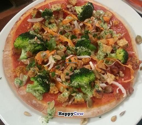 """Photo of L'Hortet  by <a href=""""/members/profile/Harp"""">Harp</a> <br/>Vegan pizza <br/> August 25, 2013  - <a href='/contact/abuse/image/12712/53729'>Report</a>"""