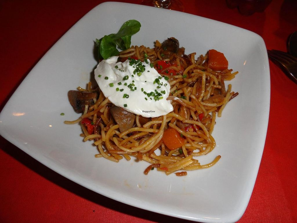 """Photo of L'Hortet  by <a href=""""/members/profile/JonJon"""">JonJon</a> <br/>Fried spaghettis with vegan mayonnaise and vegetables <br/> August 4, 2014  - <a href='/contact/abuse/image/12712/75960'>Report</a>"""