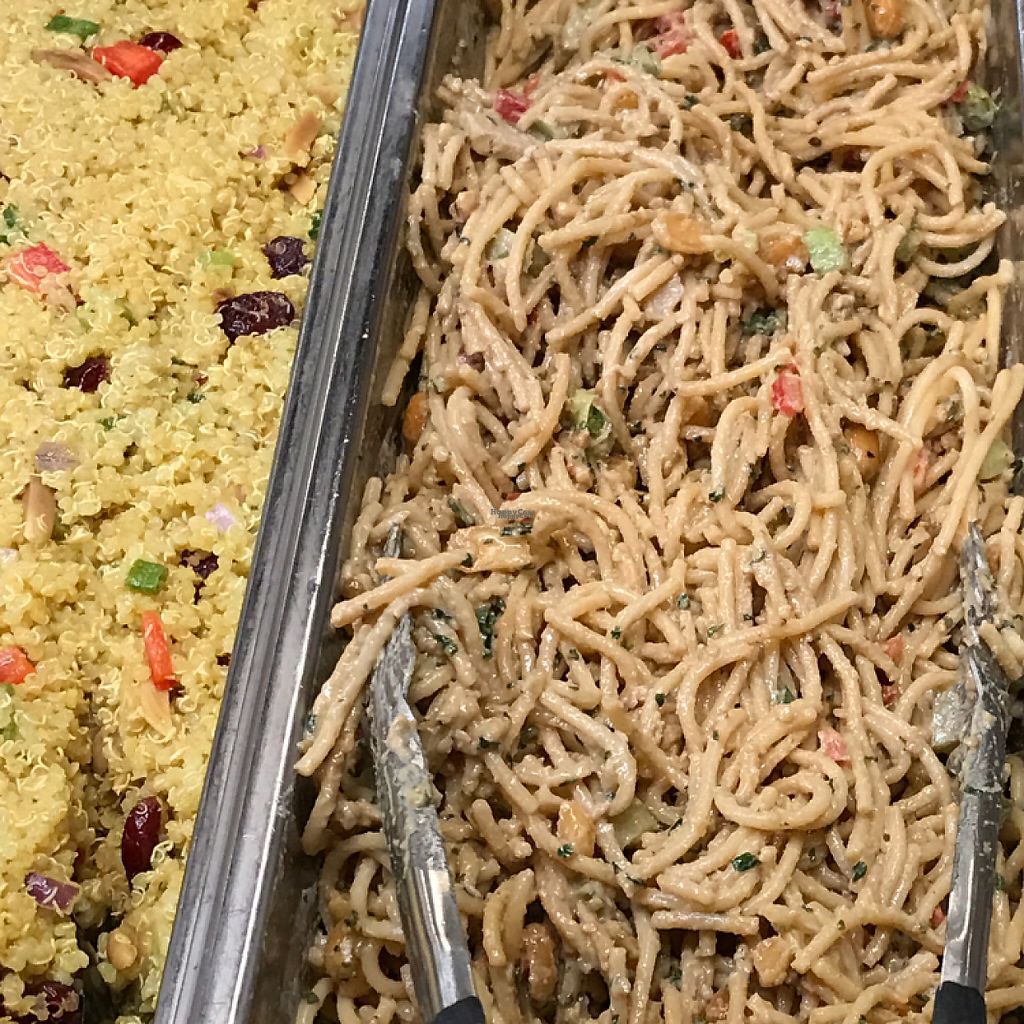 "Photo of Natural Pantry  by <a href=""/members/profile/Sarah%20P"">Sarah P</a> <br/>peanut noodles & curried quinoa <br/> February 1, 2017  - <a href='/contact/abuse/image/12717/220551'>Report</a>"