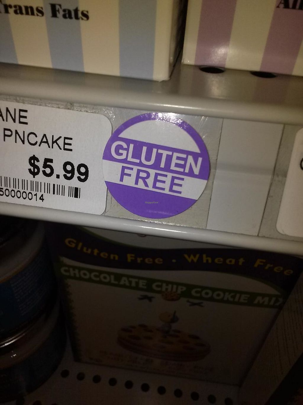 """Photo of Seven Grains Natural Market  by <a href=""""/members/profile/Il0veyouAlexis"""">Il0veyouAlexis</a> <br/>Gluten free stickers!  <br/> January 5, 2014  - <a href='/contact/abuse/image/12745/215401'>Report</a>"""