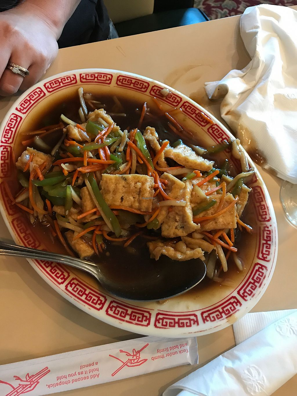 """Photo of Saigon Family Restaurant  by <a href=""""/members/profile/leftywilliams"""">leftywilliams</a> <br/>Fragrant Tofu  <br/> July 3, 2017  - <a href='/contact/abuse/image/12749/276406'>Report</a>"""