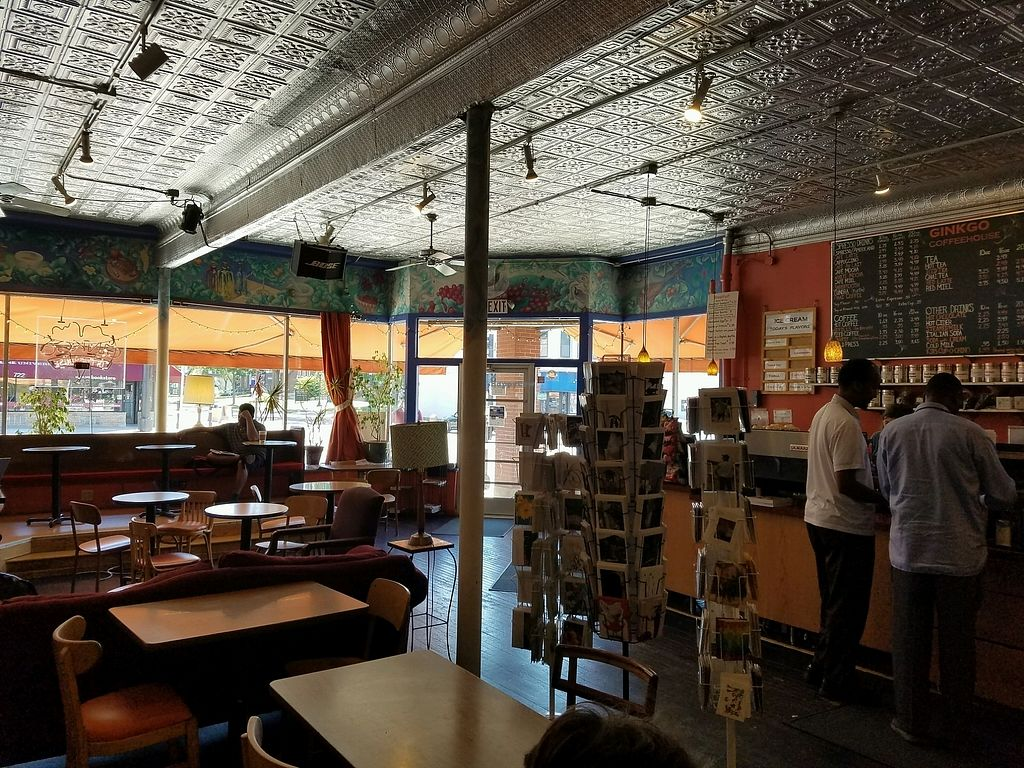 """Photo of Ginkgo Coffeehouse  by <a href=""""/members/profile/EverydayTastiness"""">EverydayTastiness</a> <br/>inside <br/> August 12, 2017  - <a href='/contact/abuse/image/12768/291976'>Report</a>"""