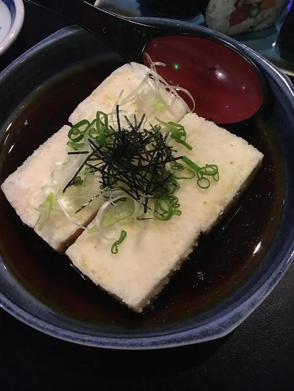 "Photo of Midori's Floating World Cafe  by <a href=""/members/profile/Laura1G2C"">Laura1G2C</a> <br/>Agedashi Tofu <br/> February 11, 2017  - <a href='/contact/abuse/image/12770/225401'>Report</a>"