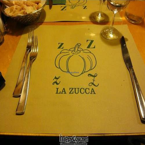 """Photo of La Zucca  by <a href=""""/members/profile/Jamila10ten"""">Jamila10ten</a> <br/>placemat  <br/> June 29, 2011  - <a href='/contact/abuse/image/12774/9461'>Report</a>"""