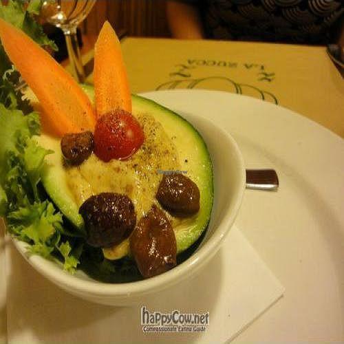 "Photo of La Zucca  by <a href=""/members/profile/Jamila10ten"">Jamila10ten</a> <br/>avocado and mustard.  so amazing <br/> June 29, 2011  - <a href='/contact/abuse/image/12774/9463'>Report</a>"