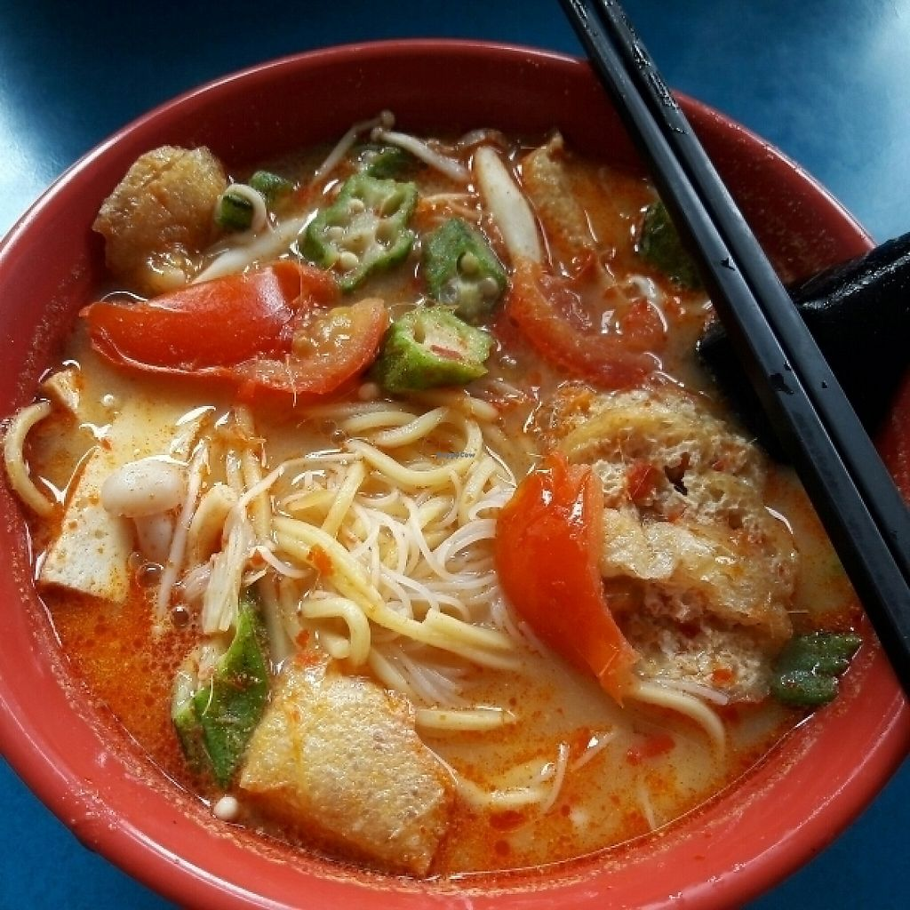 "Photo of Xu Sin Vegetarian Food  by <a href=""/members/profile/marytsoh"">marytsoh</a> <br/>Tom Yam Curry Noodle  <br/> May 30, 2017  - <a href='/contact/abuse/image/12780/264093'>Report</a>"