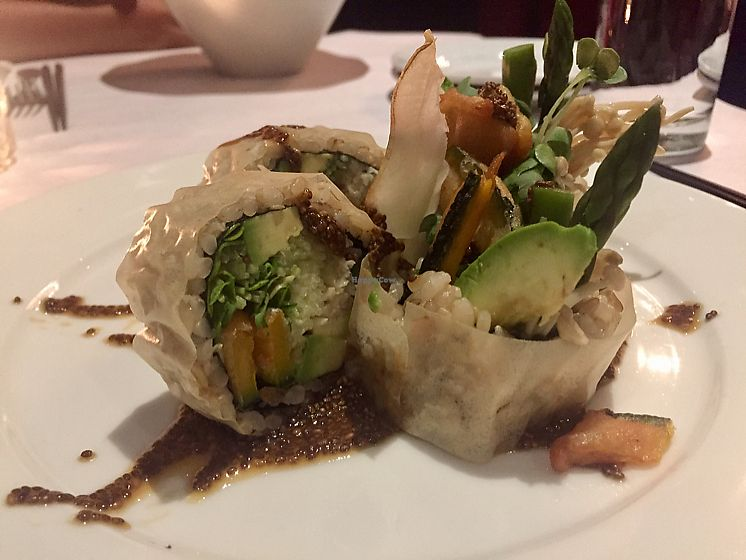 """Photo of Shojin - Downtown LA  by <a href=""""/members/profile/Bea_lc"""">Bea_lc</a> <br/>delicious black widow special roll  <br/> June 25, 2017  - <a href='/contact/abuse/image/12808/273161'>Report</a>"""