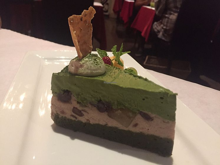 """Photo of Shojin - Downtown LA  by <a href=""""/members/profile/Bea_lc"""">Bea_lc</a> <br/>matcha gluten free cake  <br/> June 25, 2017  - <a href='/contact/abuse/image/12808/273162'>Report</a>"""