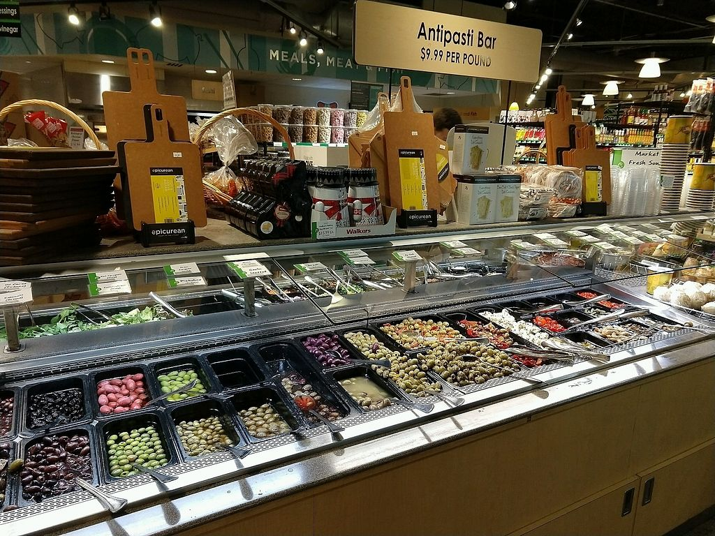 """Photo of Gateway Market  by <a href=""""/members/profile/ChelonianRacer"""">ChelonianRacer</a> <br/>Antipasti bar <br/> November 1, 2017  - <a href='/contact/abuse/image/12810/320973'>Report</a>"""
