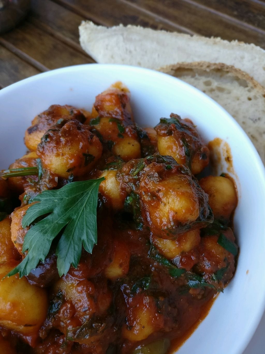 "Photo of Himalaya Bakery and Cafe  by <a href=""/members/profile/Aloo"">Aloo</a> <br/>vegan gnocchi  <br/> March 10, 2018  - <a href='/contact/abuse/image/12852/368739'>Report</a>"