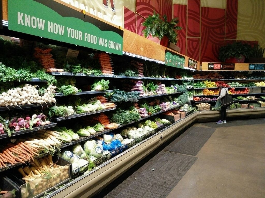 """Photo of Whole Foods Market - Oakland  by <a href=""""/members/profile/martinicontomate"""">martinicontomate</a> <br/>fresh vegetables <br/> October 3, 2016  - <a href='/contact/abuse/image/12892/179408'>Report</a>"""
