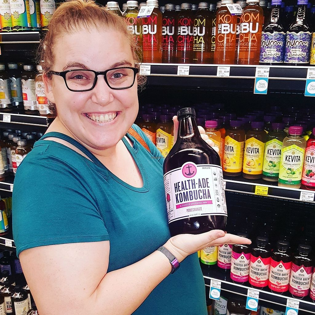 """Photo of Whole Foods Market  by <a href=""""/members/profile/VegManda"""">VegManda</a> <br/>Giant Kombucha! <br/> September 25, 2017  - <a href='/contact/abuse/image/12896/308103'>Report</a>"""