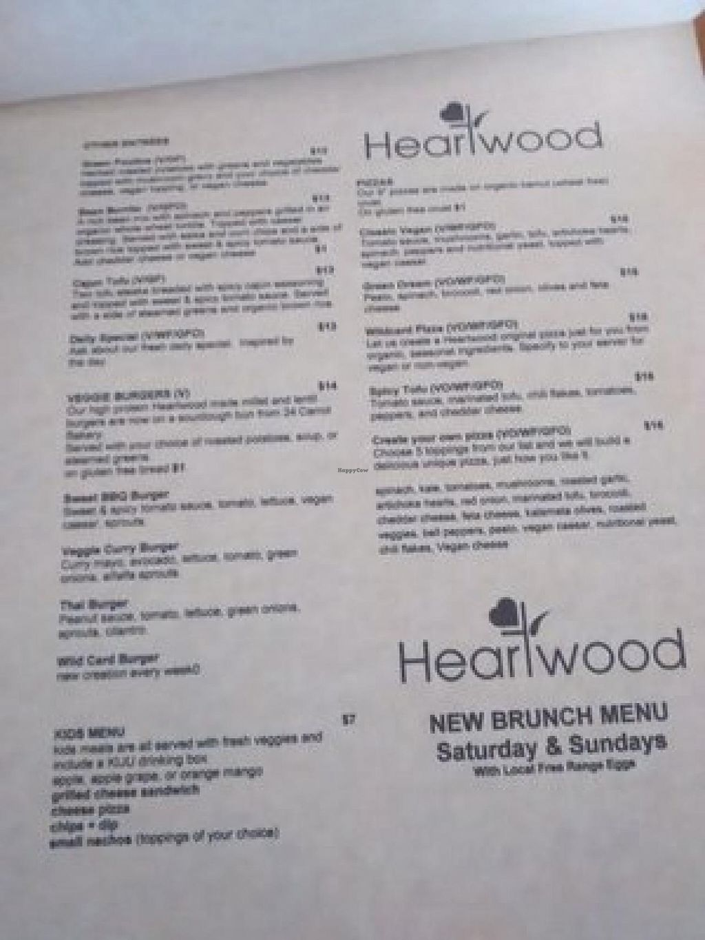 """Photo of Heartwood Bakery & Cafe - Quinpool Rd  by <a href=""""/members/profile/QuothTheRaven"""">QuothTheRaven</a> <br/>Menu <br/> July 24, 2015  - <a href='/contact/abuse/image/1294/110811'>Report</a>"""