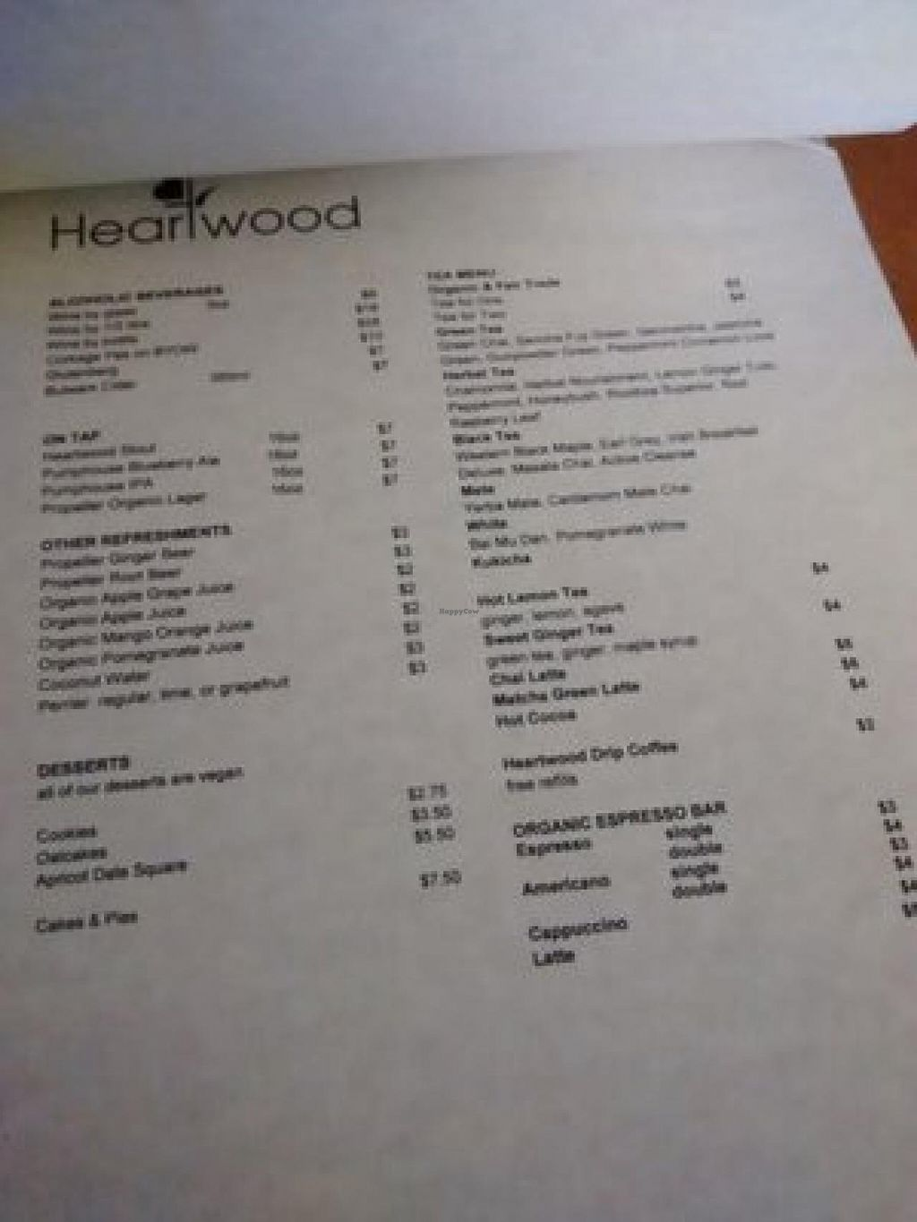 """Photo of Heartwood Bakery & Cafe - Quinpool Rd  by <a href=""""/members/profile/QuothTheRaven"""">QuothTheRaven</a> <br/>Menu 3 <br/> July 24, 2015  - <a href='/contact/abuse/image/1294/110814'>Report</a>"""